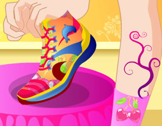 Funky Shoes Design || 12148x played